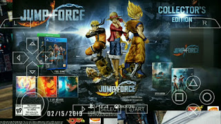 (BARU) Game Naruto NSUNI Mod Jump Force PPSSPPP V2 HD Offline di Android