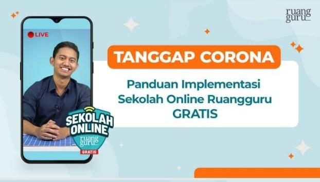 Tanggap Corona, LP Maarif NU Kabupaten Malang Gelar Sekolah Online Bersama Ruang Guru