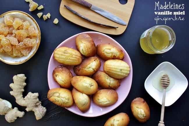 recette madeleines i cookin