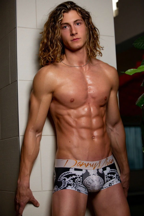 Peter Saffa Shirtless by Larry Pelletier