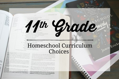 11th Grade Homeschool Curriculum Choices 2019-2010 #homeschool #curriculum #homeeducation