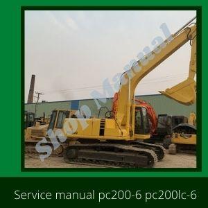 pc200-6 pc200lc-6 pc220-6 pc220lc-6 komatsu