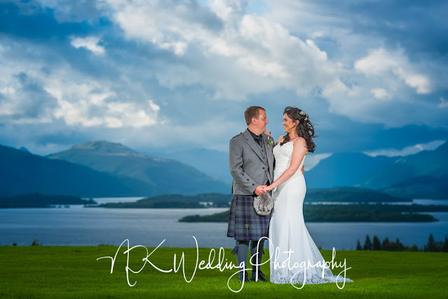 Ardoch Loch lomond Wedding Photography