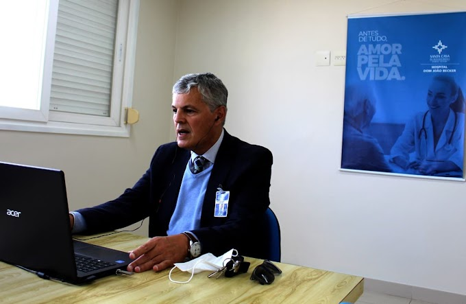 Planos de ampliação da UTI e Emergência SUS do Hospital Dom João Becker é apresentada para a ACIGRA