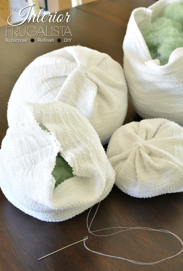Cotton Terry Knit Sweater Pumpkins Top Seam