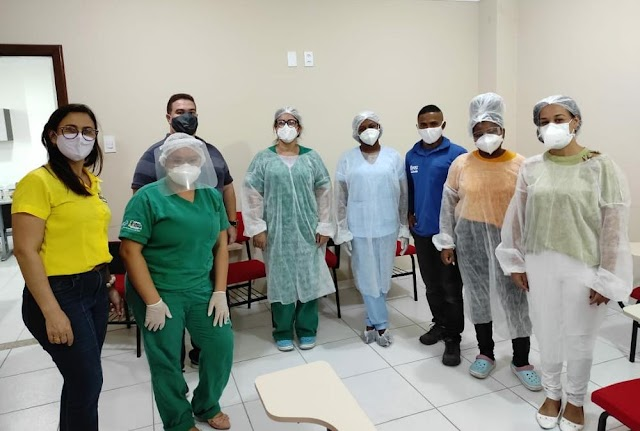 Secretaria de Saúde inicia testagem em trabalhadores do comércio em Cruz das Almas