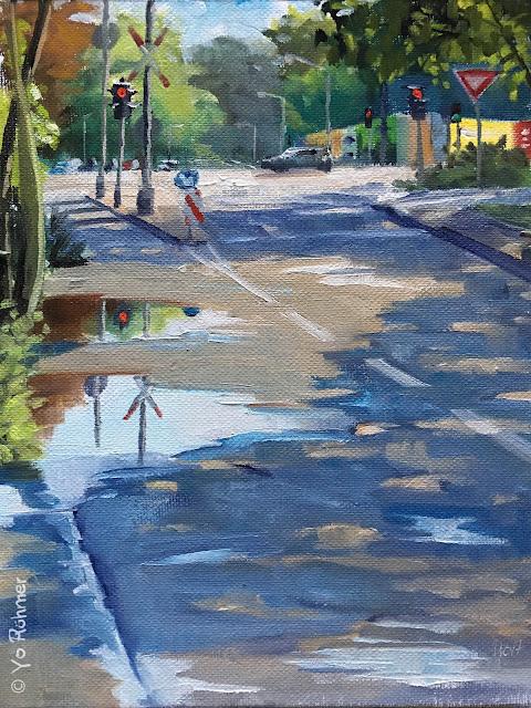 urbansketchers, oilpainting, pleinairmalerei