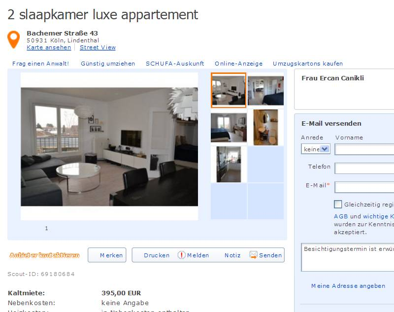 2 Slaapkamer Appartement Utrecht Studenten