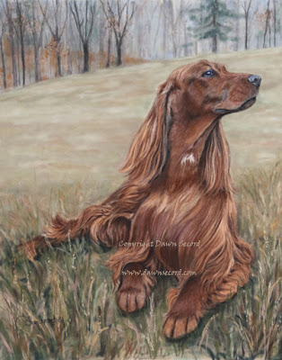 Commission a painting of your dog