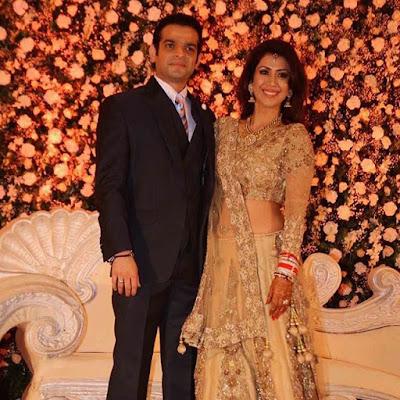 Karan-Patel-Ankita-Bhargava-Reception