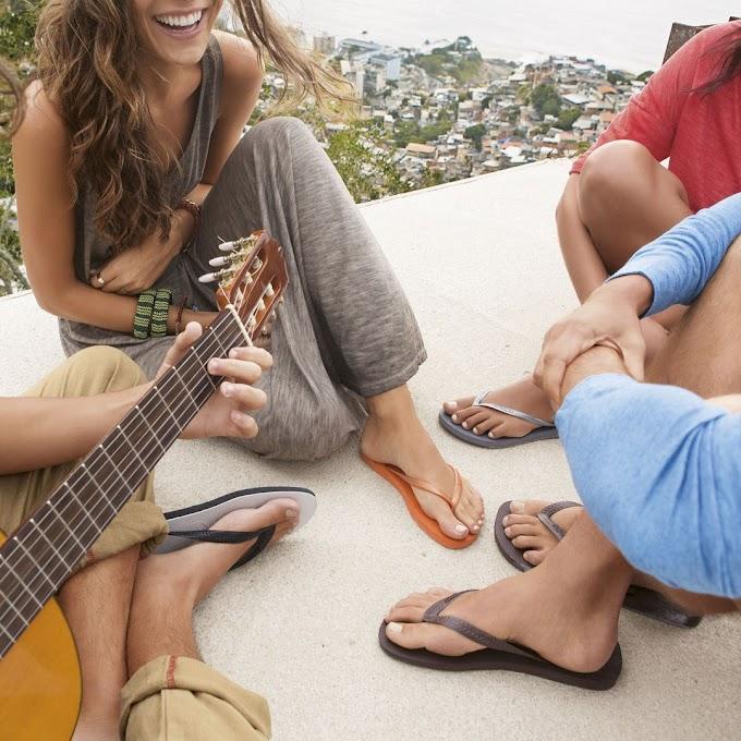 Como consertar seu chinelo tipo havaianas com eficiência
