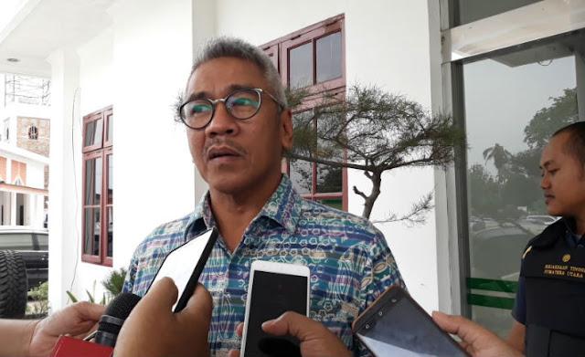 Sekretaris Fraksi Partai Golkar DPRD Sumatera Utara Muchrid Nasution
