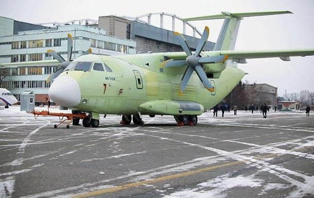 В РФ разбился новый военно-транспортный самолет (видео)