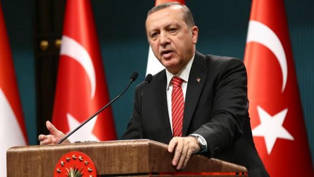 الاعلان الرسمي الاول لمكتب الرئاسة التركية بشأن وفاة اردوغان