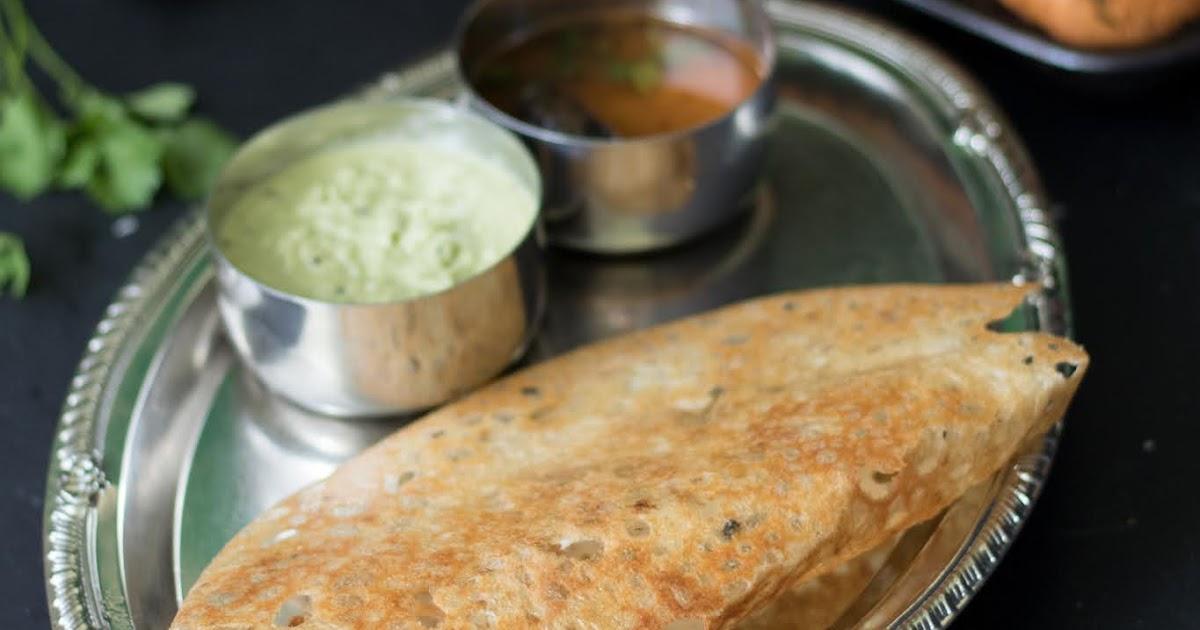 Onion Rava Dosa - Malas-Kitchen