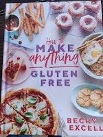 Photo of the gluten-free recipe book - link below