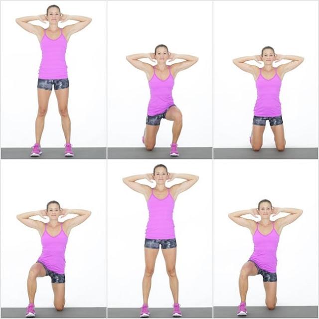 تمرين Surrender Squat