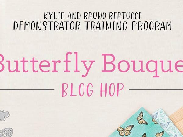 Butterfly Bouquet Blog Hop April 2021 | Thank You