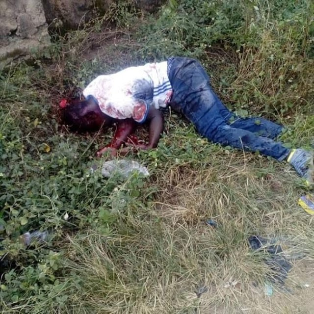Undergraduate hacked to death by Cultists After Bullets failed to penetrate his body