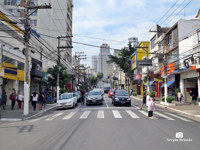 Vista de trecho da Rua Voluntários da Pátria - Santana - São Paulo