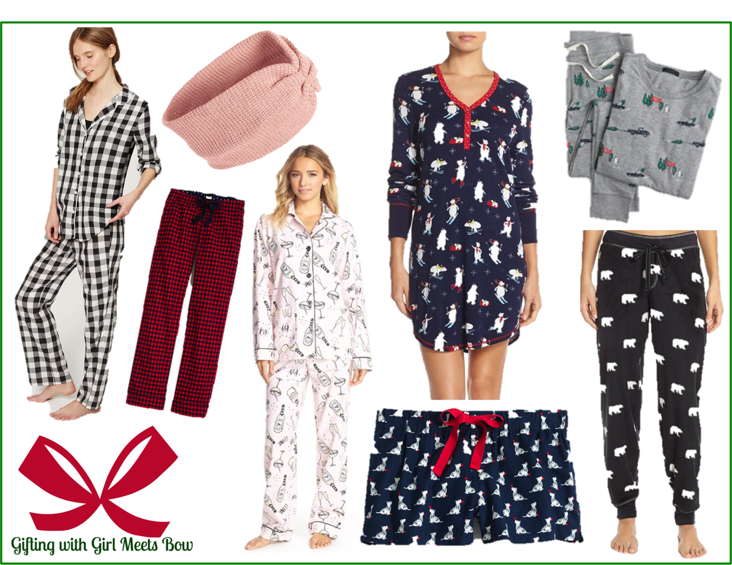 Gifting with Girl Meets Bow: Christmas PJ's