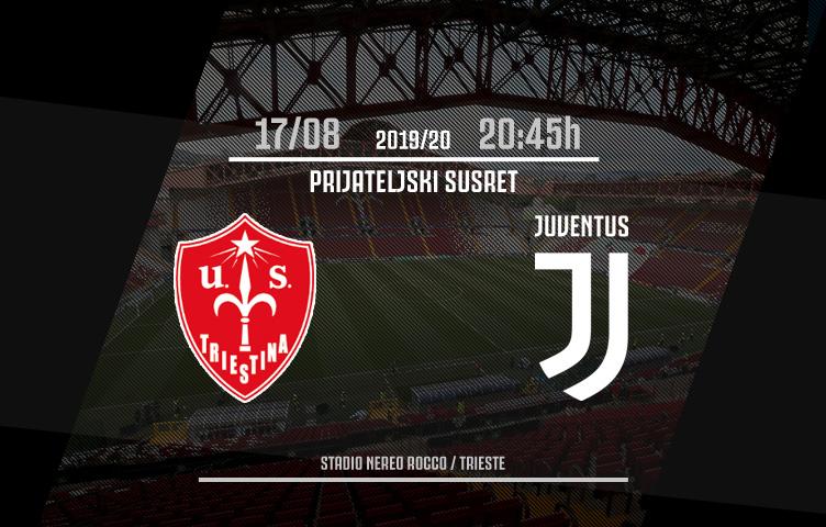 Prijateljska utakmica / Triestina - Juventus, subota, 20:45h