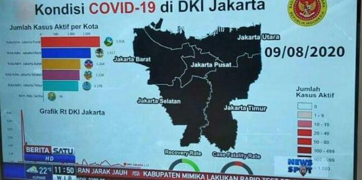 Heboh Peta Hitam Penyebaran Corona di Jakarta, Ini Kata BIN