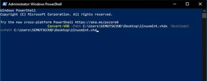 Cara Mengubah VHDX Menjadi VHD-1
