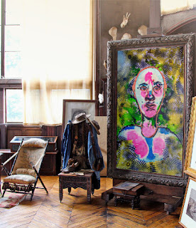 BUY ABSTRACT PAINTING: THE MAN WHO SEES COLORS