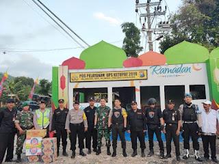 Operasi Ketupat : Kapolres Dan Dandim 0821 Patroli Bersama