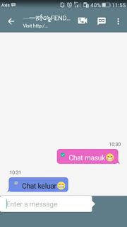 BBM Kimochi Messenger Batch v3.0.1.25 New Style MOD APK