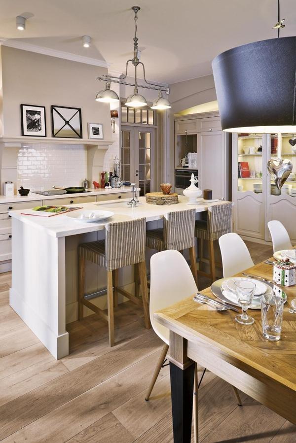 Estilo rustico cocina comedor living rustico - Fotos de cocina comedor ...