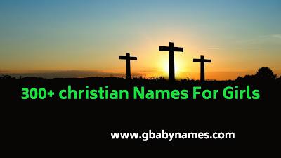 Christian names for girls