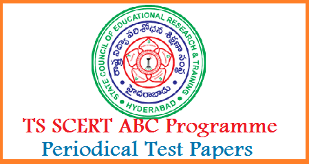 Telangana SCERT implementing ABC Attainment of Basic Competencies Programme in the place of 3RS last year for 60 Days this year. SCERT instructed teachers to conduct periodical Tests to assess the performance of the students. Here you may Download State Council for Education Research and Training  ABC Programme Periodical Tests Model Question Papers for assessment of the students ts-scert-abc-programme-periodical-test-telugu-english-mathematics-model-question-papers-download