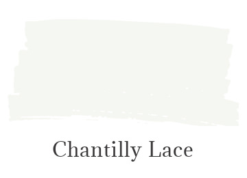 Benjamin Moore Chantilly Lace