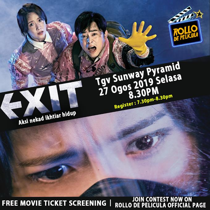 Peraduan Tiket Wayang: Filem Exit