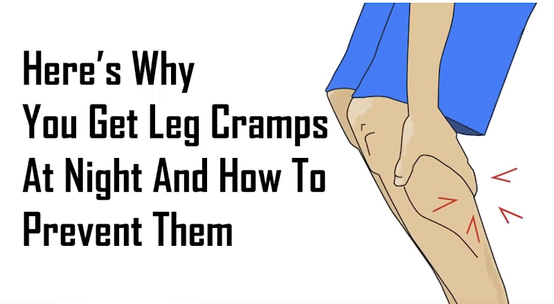 The Reason Why You Get Leg Cramps at Night and How to Stop it Immediately
