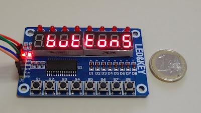 Foto 1 - Il modulo LED & KEY - foto di Paolo Luongo