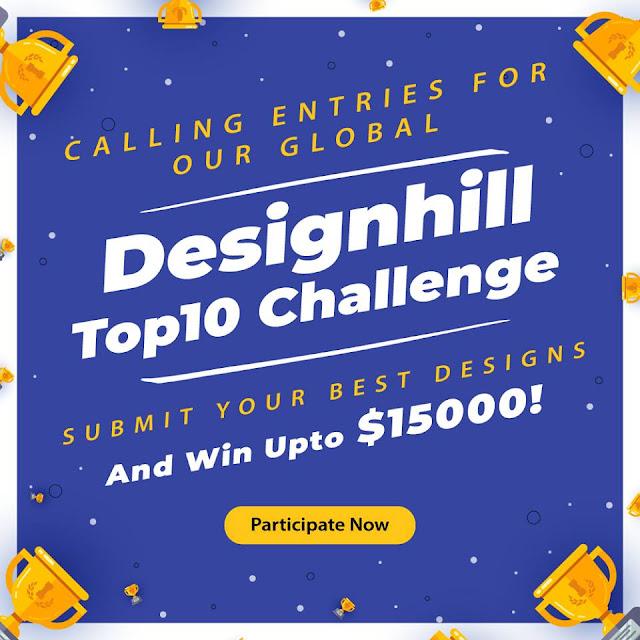 اظهر موهبتك الفنية واحصل على فرصة ربح مكافاة نقدية ضخمة حتى 15000. دولار