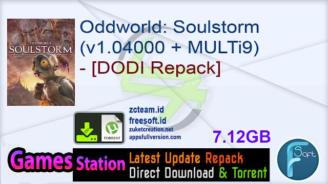 Oddworld Soulstorm (v1.04000 + MULTi9) – [DODI Repack]
