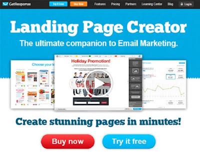 Get Response Landing Page Creator