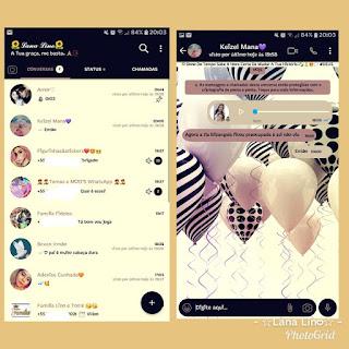 Balloon Color full Theme For YOWhatsApp & Fouad WhatsApp By Lana Lino