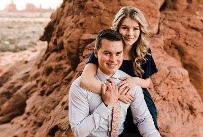 Josie Bates and Kelton Balka engagement