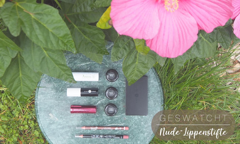Header Naturkosmetik-Nude-Lippenstifte vegan