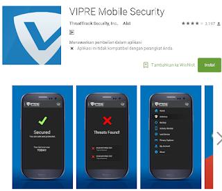 ulasan vipre antivirus di android