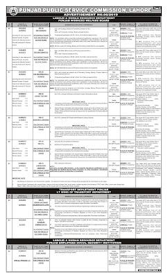 Online Latest Jobs PPSC Teacher Jobs Ad 2