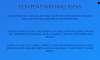 SEO Content, write to attract your audience