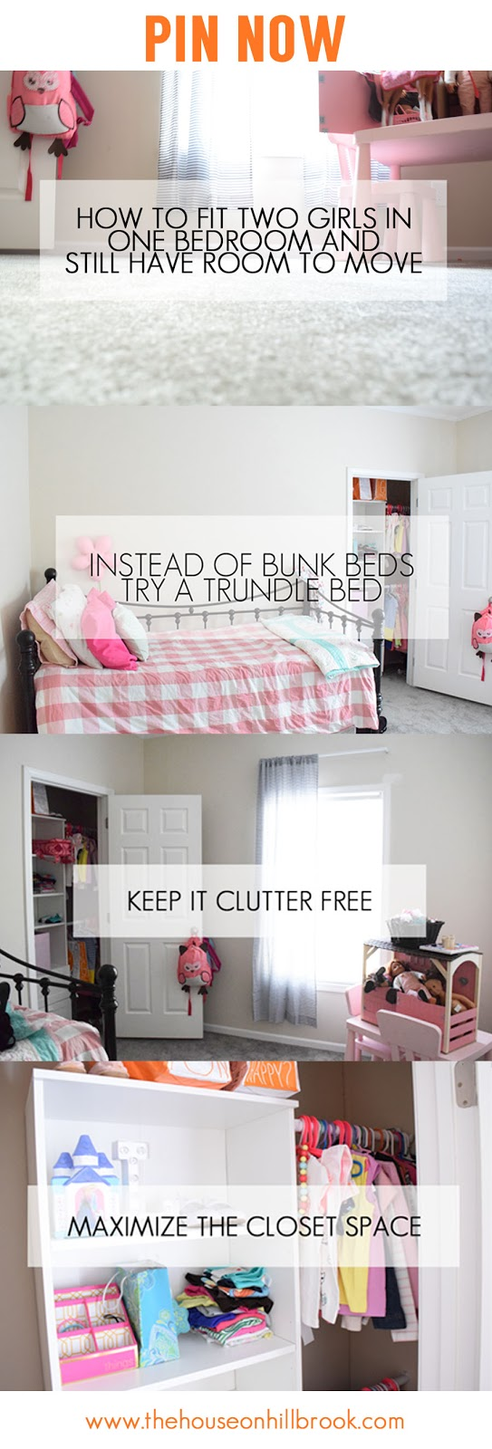 bedrooms for two girls. How To Fit Two Girls In One Bedroom And Still Have Room Move - The House On Hillbrook Bedrooms For I