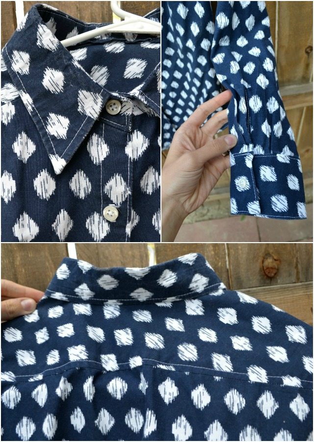 Me Made: Ikat Button-Up Shirt