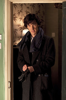 Benedict Cumberbatch as Sherlock Holmes in A Study in Pink BBC Sherlock